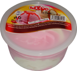 lixoo ice cream 1ltr cup